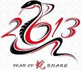 2013, año de la serpiente