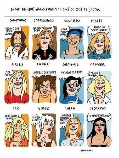 chicas del horóscopo