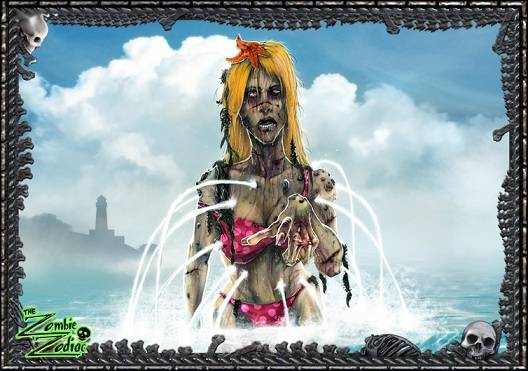 acuario zombie