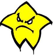 estrella enfadada