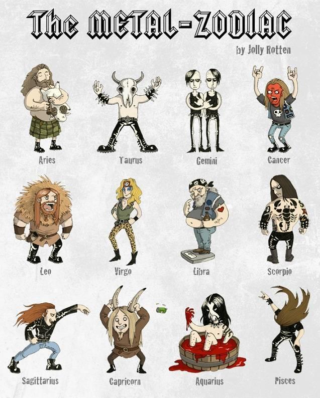 zodiaco metal