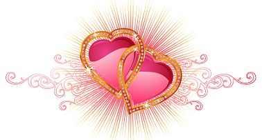 corazones entrelazados